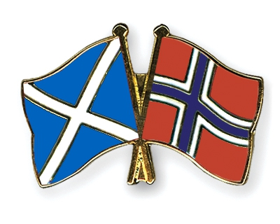 Flag Pins Scotland Norway