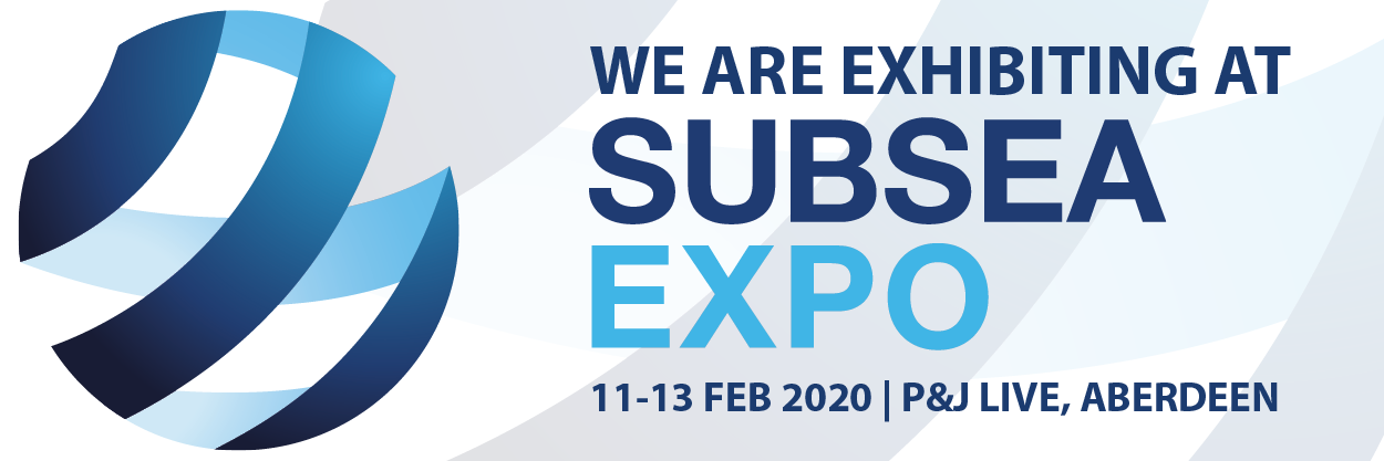 we are exhibiting at subsea expo